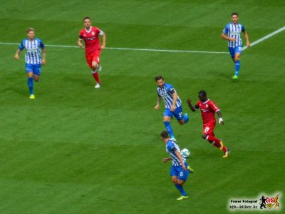 Noch nicht effektiv genug: Der VfB-Angriff. Bild: © VfB-Bilder.de