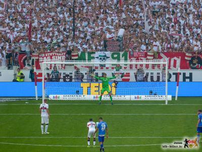 Auch dieser Torschuss findet sein Ziel nicht. Bild; © VfB-Bilder.de