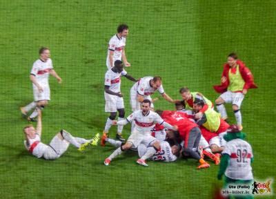 Jubel, Trubel, Heiterkeit. Aber die Probleme bleiben. Bild: © VfB-Bilder.de