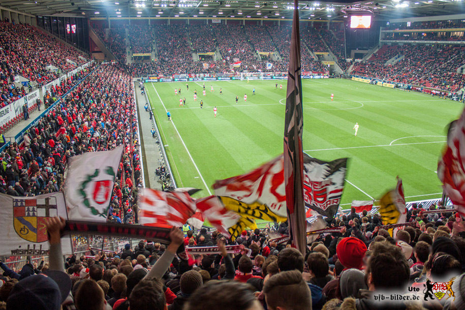 Rund um das Pokalspiel in Mainz