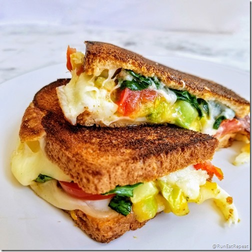 best grilled cheese w vegetables