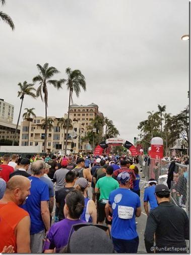 Rock N Roll San Diego Half Marathon results recap running blog 3