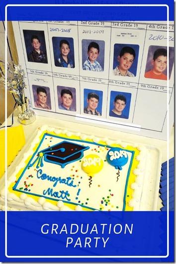 Graduation Party decoration pictures