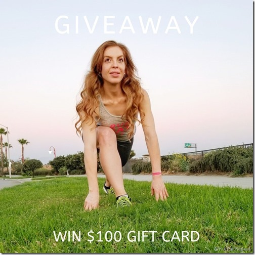 Running Day Giveaway