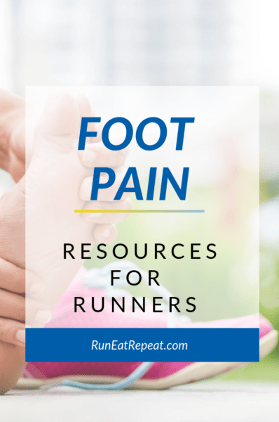 Runner Foot Pain info and resources list