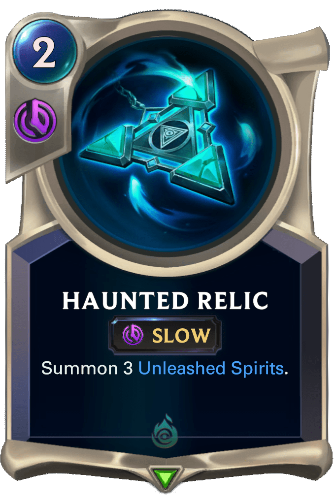 Haunted Relic