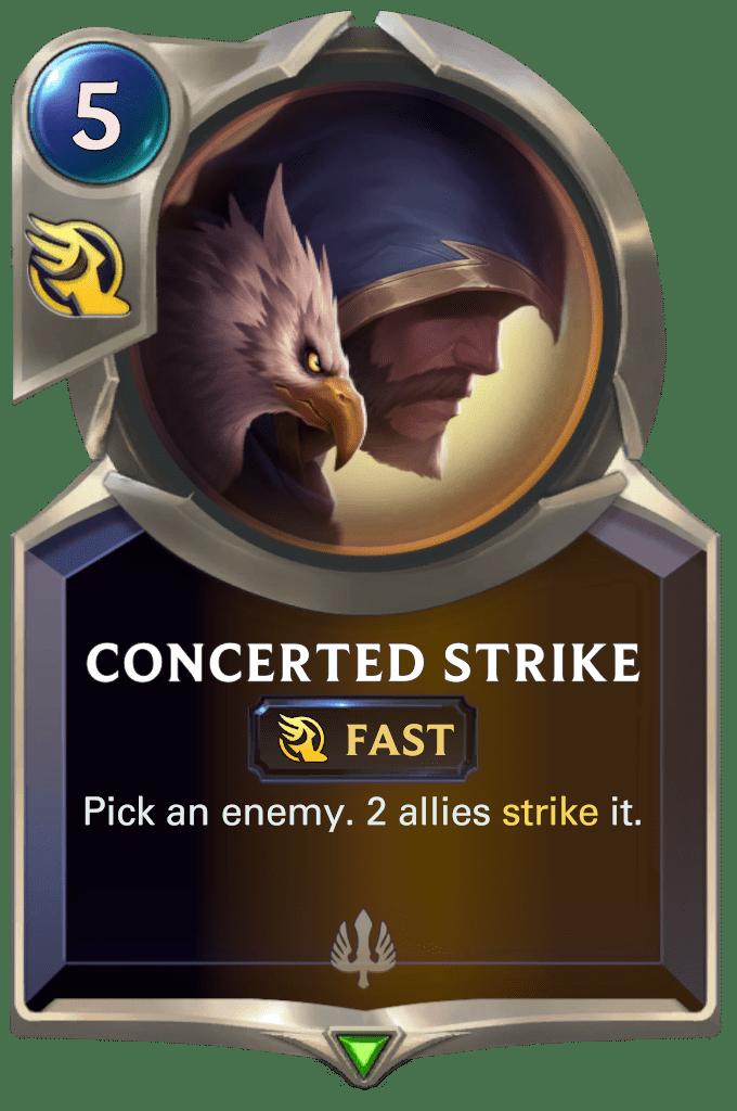 Concerted Strike