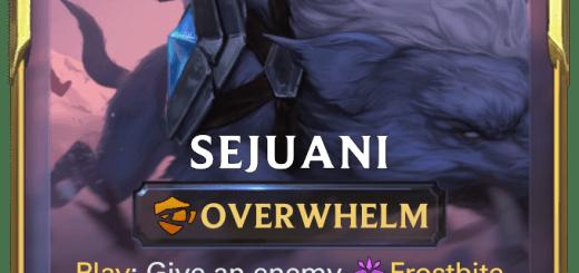 Sejuani (Leveled)