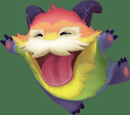 Rainbow Poro Guardian