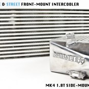 EUROJET  EJ402-M10-05-00 | MK4 1.8T Side Mount Intercooler