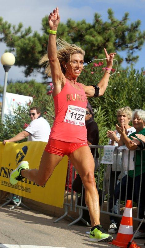 Porto-Vecchio semi marathon 3ieme feminine