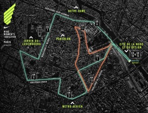 NIKE WOMEN'S PARIS PARCOURS FACEBOOK