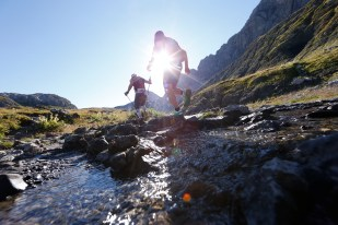 Gore-Tex Transalpine-Run 2015 30.08.15, Tag 02: Lech (AUT) Ð St. Anton (AUT) 24,7 km, + 1.899 m / - 2.042 m