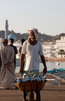 10th December 2009. Oman Sail. Picture shows the daily life in and around the fish market. Muscat. Oman Please credit all pictures: Lloyd Images/Oman Sail
