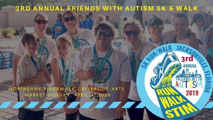 3rd Annual Friends With Autism 5K / Walk