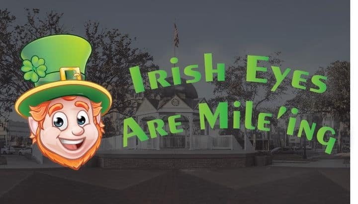 Irish Eyes are Mile'ing