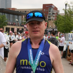 Mark Dame - Flying Pig 2019 Finish Line