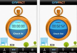 gympact check in