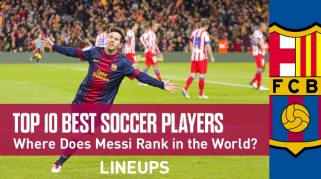 Top 10 Best Soccer Players in the World