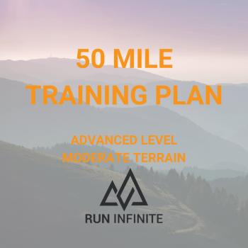 50 mile training plan running trail ultramarathon