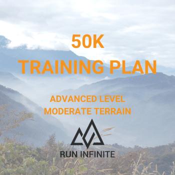 Trail running training plan 50k
