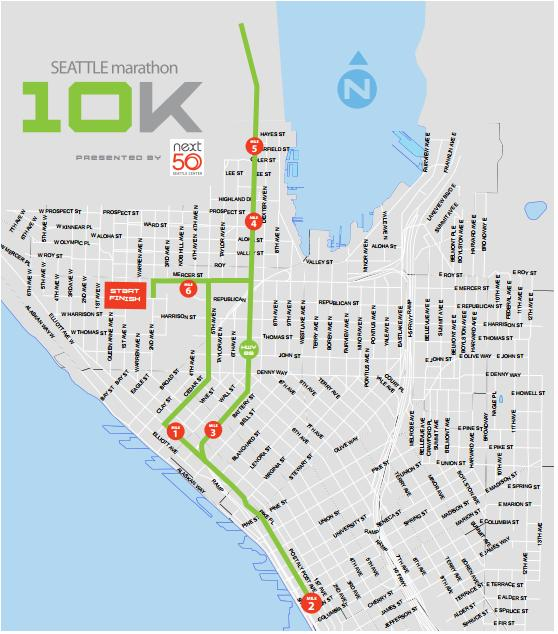 Seattle Marathon 10K 2014/2015 - Date, Registration, Course, Route Map