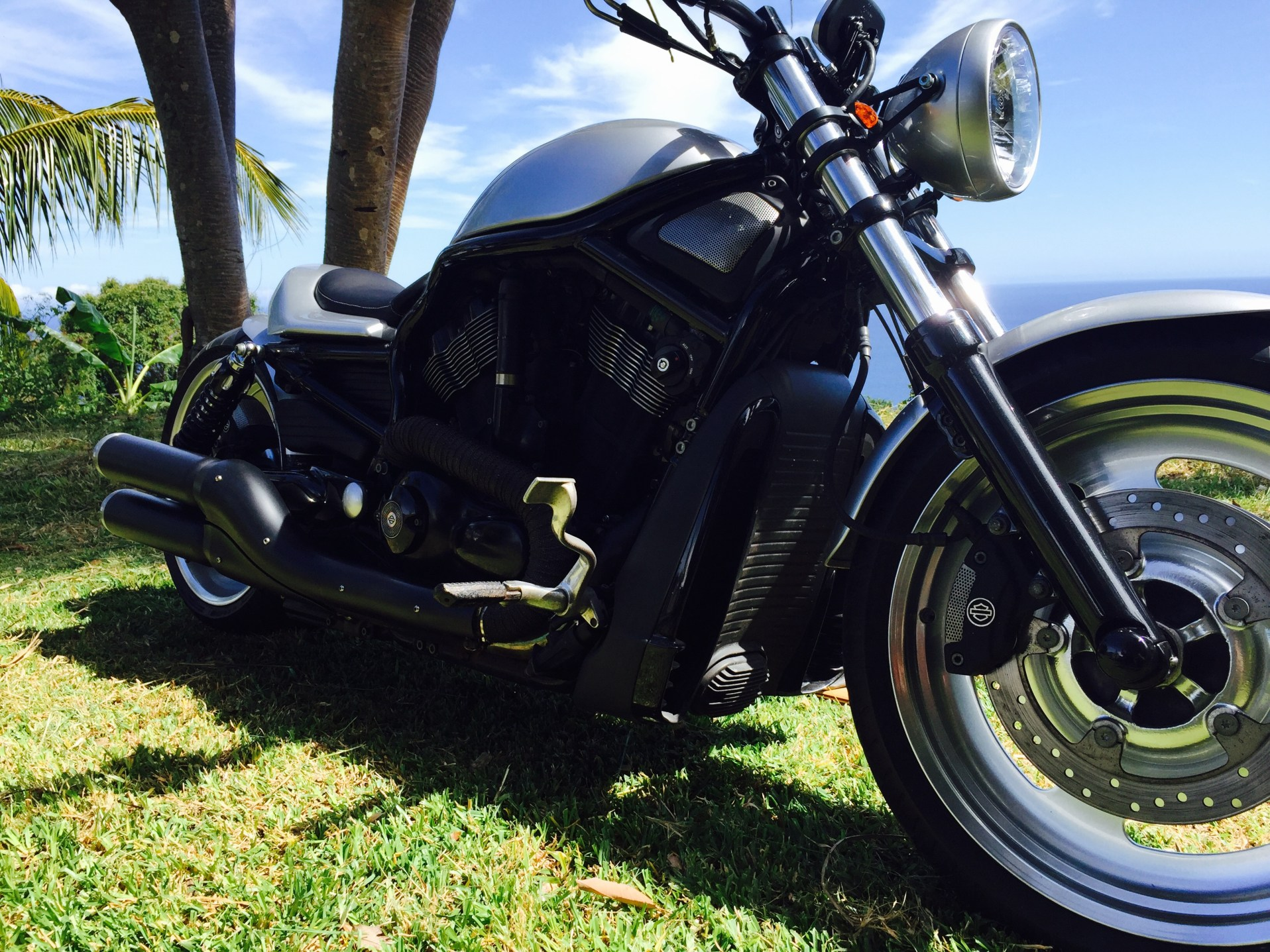 IMG_4240 (modifié) moto Harley Davidson VROD NRS Customisé à la réunion par Run Iron Works