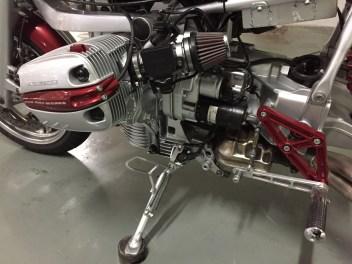 BMW R 1150 RT RUN IRON WORKS commande vitesse