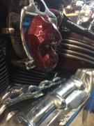 tete de gorille ornement moto custom