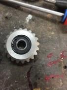 engrenage pièce mécanique aluminium prototypage réunionengrenage pièce mécanique aluminium prototypage réunion