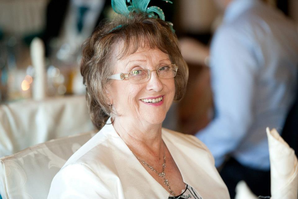 Nanna in a hat