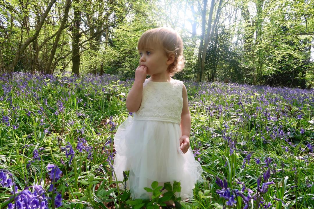baby wearing boots mini club in bluebells