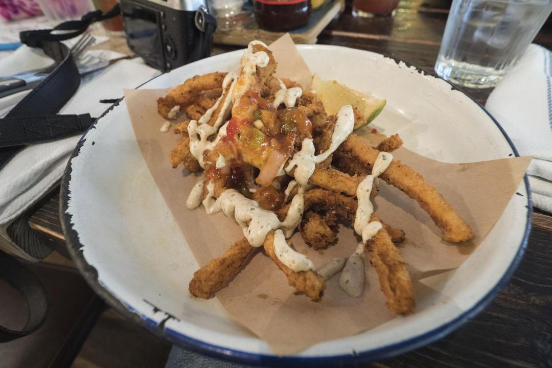 Crispy Squid from Turtle Bay