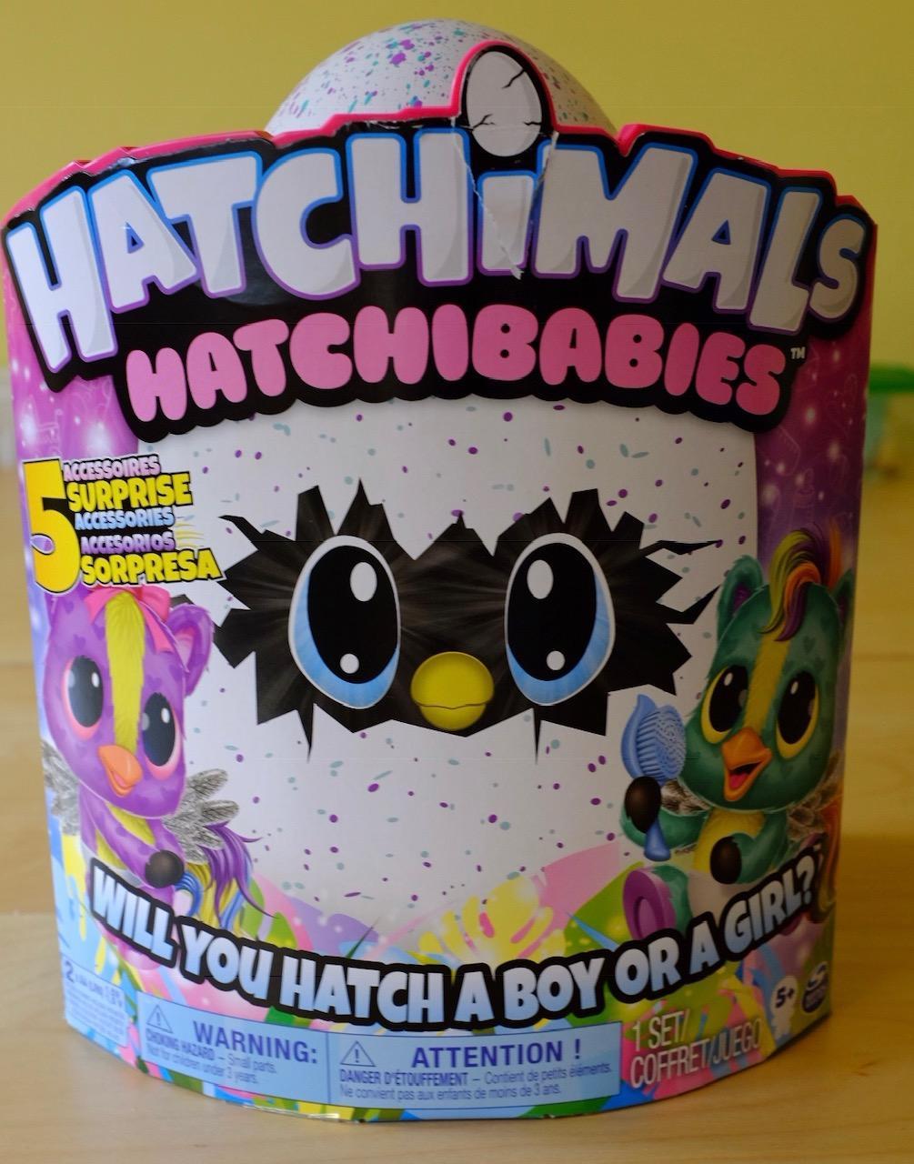 Hatchimals HatchiBabies box