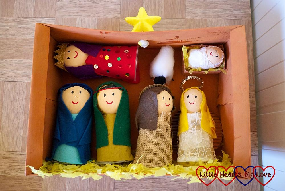 The Nativity in a Shoebox