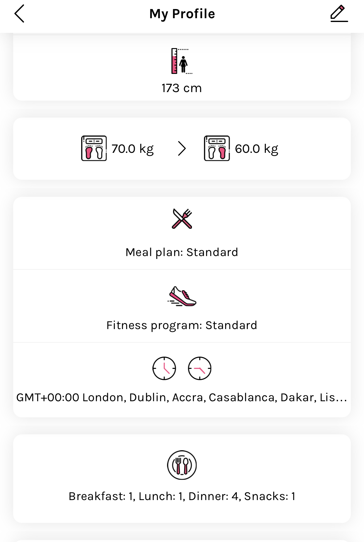 healthy mummy app Profile screenshot