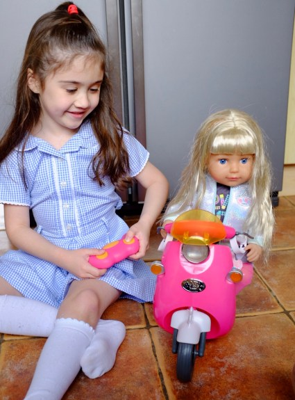 BABY Born City Remote Control Scooter- REVIEW