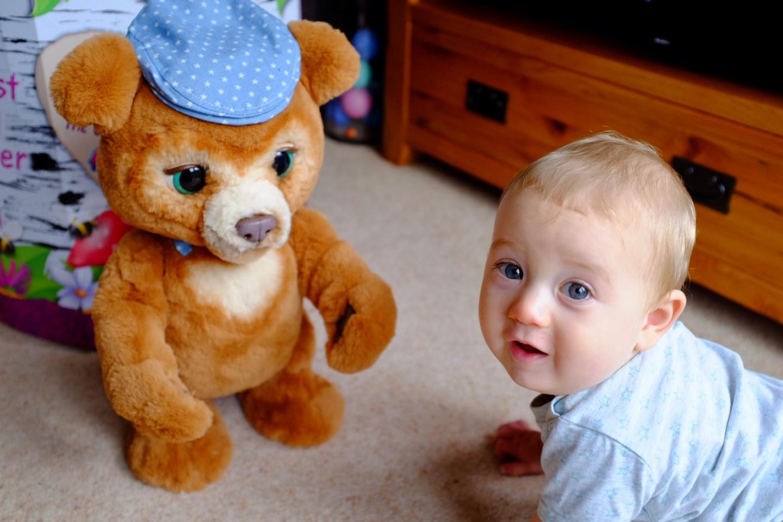 cubby the curious bear
