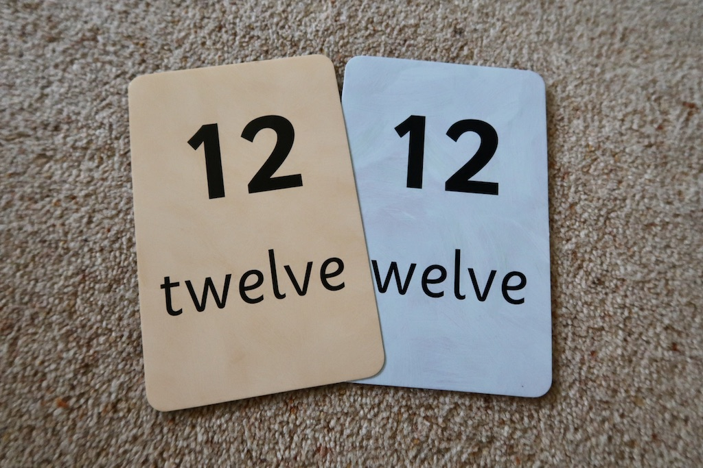 Number Flashcard Games to Help Your Pre-schooler with Numbers | AD
