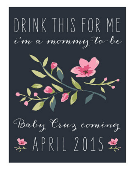 mommy to be label