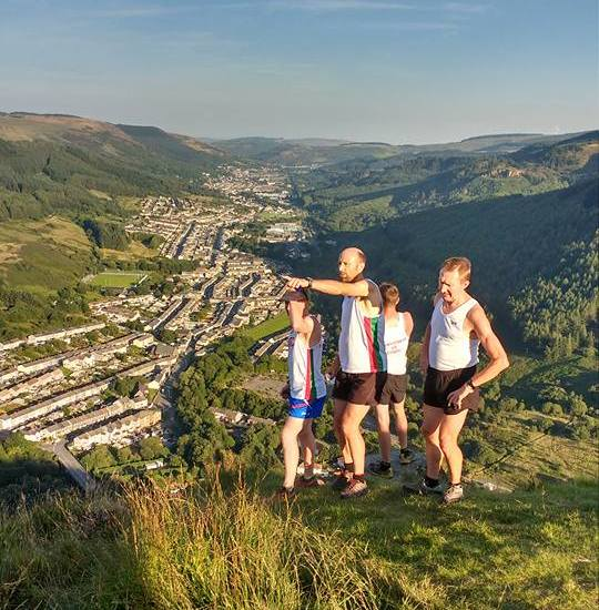 Mdc running club Wales training run