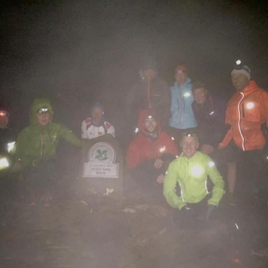 Mdc running club Wales training run Pen y fan