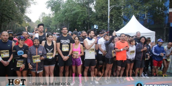 carrera hot chocolate 15K mexico cdmx