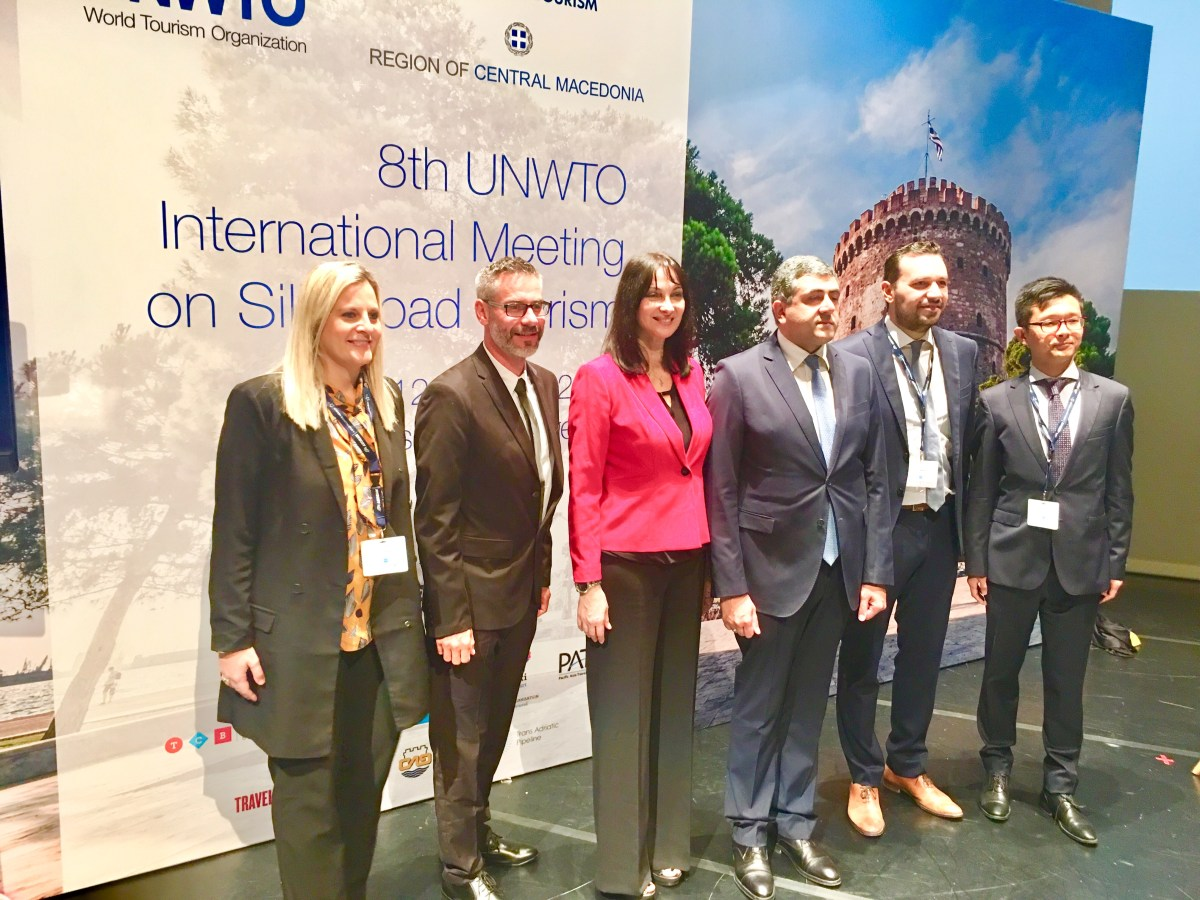 8th UNWTO International Meeting on Silk Road Tourism ? Thessaloniki / Greece
