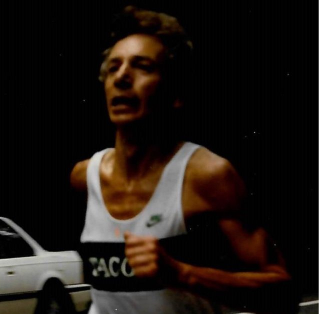 Frank Sabito Running