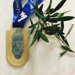 The medal and an Olive Branch