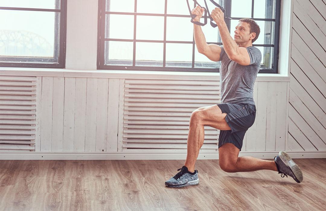 7 ejercicios en TRX para fortalecer en casa