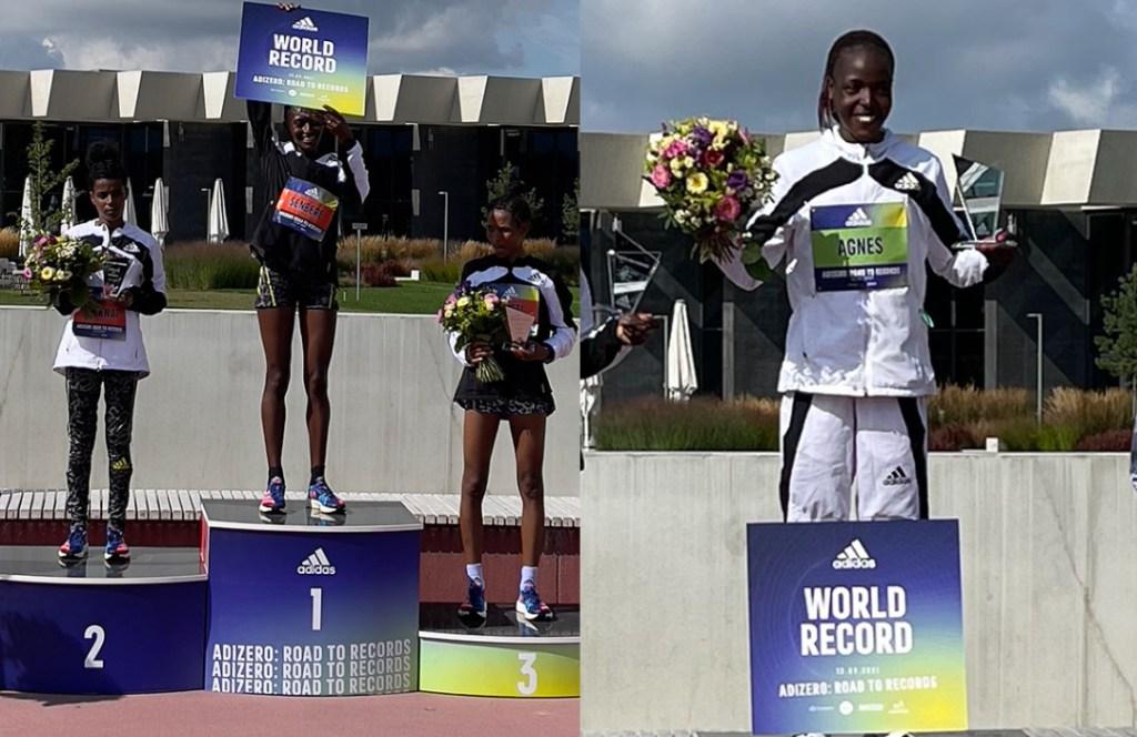 2 nuevos récords del mundo en Adizero: Road to Records