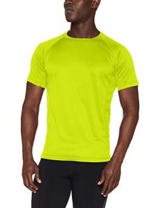 Bright colours are a must when running in the dark.