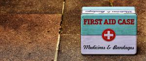 A decent First Aid kit makes night-time running much safer.